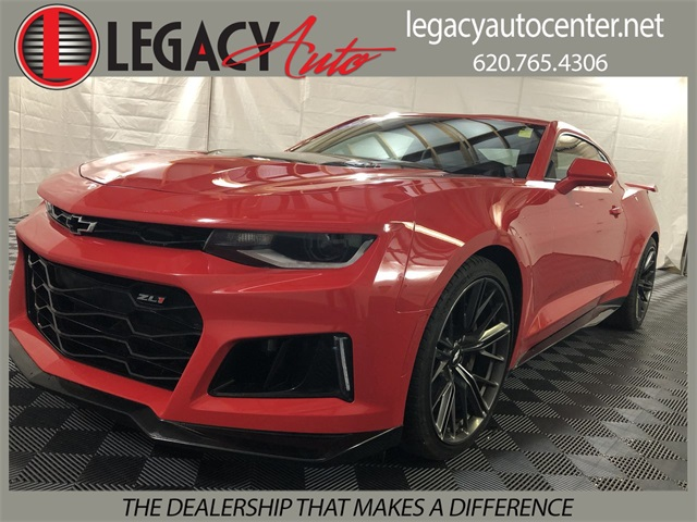 Pre Owned 2017 Chevrolet Camaro Zl1 2d Coupe In Garden City
